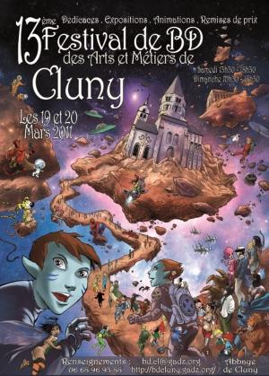 14e Festival BD de Cluny, 5 et 6 mai 2012 Affiche2011